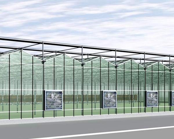 贵州智能玻璃温室大棚